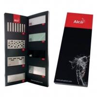 Экспозитор-книжка с дизайнами решеток для водоотводящих желобов Alcaplast PM02008UNI