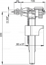 """Bпускной механизм Alca Plast A15P 3/8"""" с боковой подводкой"""