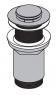 Водослив для умывальника Alca Plast A394 Сlick-clack