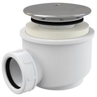 Сифон Alca Plast A47CR Ø60 для душевого поддона