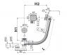 Сифон для ванны Alca Plast A564ANTIC