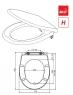 Сиденье для унитаза Alca Plast A604 Softclose
