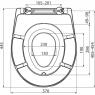 Сиденье для унитаза Alca Plast A606 Softclose