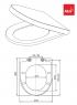 Сиденье для унитаза Alca Plast A67 Softclose
