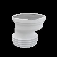 Патрубок для унитаза Alca Plast A991-20 эксцентрический 20 мм