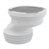 Патрубок для унитаза Alca Plast A991-40 эксцентрический 20 мм