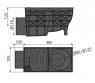 Ливнеотвод Alca Plast AGV3