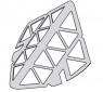 Нержавеющая решетка боковая Alca Plast AGV942