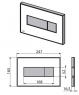 Кнопка управления Alca Plast Alca Light M1475-AEZ113