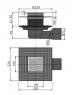 Сливной трап Alca Plast APV3344