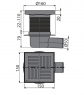 Сливной трап Alca Plast APV5211