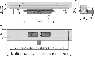Желоб водоотводящий Alca Plast APZ1016-750 Wall