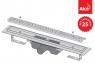 Желоб водоотводящий с решеткой Antivandal Alca Plast APZ11-650L