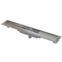 Желоб водоотводящий с порогами для решетки Alca Plast APZ1107-Floor Low-750