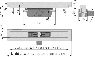 Желоб водоотводящий Alca Plast APZ16-650 Wall