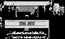 Желоб водоотводящий Alca Plast APZ16-950 Wall