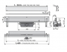 Желоб водоотводящий Alca Plast APZ5-SPA-Eden-750