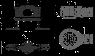 Экстра низкий сифон DN50 и комплект регулируемых ног Alca Plast APZ-9