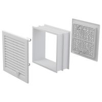 Вентиляционная решетка Alca Plast AVM200UZVB 200х200