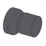 Адаптер для подключения бокового притока DN 50 Alca Plast AVZ-P003