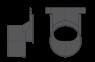 Дренажный канал Alca Plast AVZ-G101В