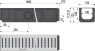 Дренажный канал Alca Plast AVZ-G101