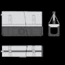Щелевой дренажный канал Alca Plast AVZ101-R324