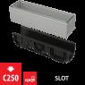 Щелевой дренажный канал Alca Plast AVZ101S-R121R