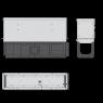 Щелевой дренажный канал Alca Plast AVZ101S-R322R
