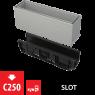 Щелевой дренажный канал Alca Plast AVZ101S-R122R