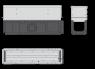 Щелевой дренажный канал Alca Plast AVZ101S-R123R