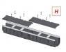 Дренажный канал Alca Plast AVZ103-R201