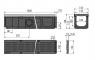 Дренажный канал Alca Plast AVZ103-R202
