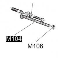 Крепление к инсталляции А101 Alca Plast M104