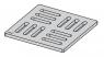 Дизайновая решетка Alca Plast MPV001-ANTIC 102x102x5