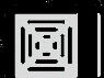 Решетка для сливных трапов Alca Plast MPV012 102x102 мм