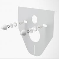 Звукоизоляционная плита Alca Plast M910 для унитаза/биде