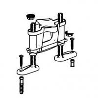 Набор регулируемых ног Alca Plast P122