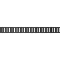 Решетка водосточная Alca Plast Pure-750BLACK