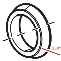 Резинка Alca Plast S381