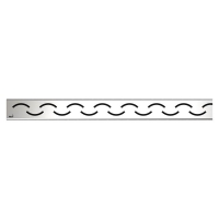 Решетка водосточная Alca Plast Smile-950