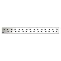 Решетка водосточная Alca Plast Smile-750L