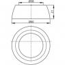 Крышка кнопки Alca Plast V018